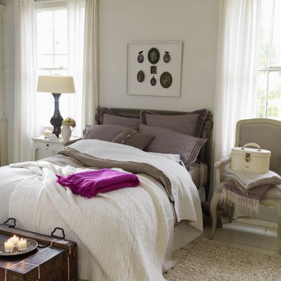 Calming Bedroom: Garrison Hullinger Interior Design
